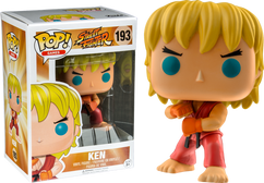 Street Fighter - Ken (Special Attack) US Exclusive Pop! Vinyl Figure