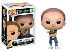 Rick and Morty - Morty Weaponized Pop! Vinyl Figure