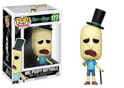 Rick and Morty - Mr Poopy Butthole Pop! Vinyl Figure
