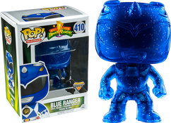 Power Rangers - Blue Ranger Morphing US Exclusive Pop! Vinyl Figure