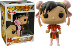 Street Fighter - Chun Li (Red) US Exclusive Pop! Vinyl Figure