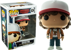Stranger Things - Dustin (Brown Jacket) US Exclusive Pop! Vinyl Figure