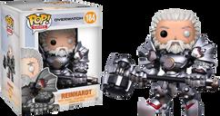 """Overwatch -Reinhardt Unmasked US Exclusive 6"""" Pop! Vinyl Figure"""