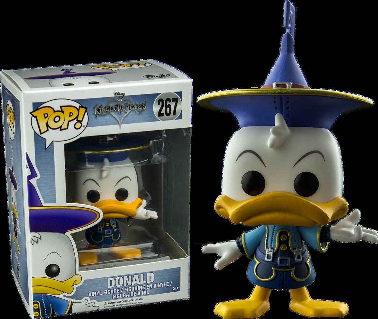 0111b984194 ... Kingdom Hearts – Donald Duck (Kingdom) US Exclusive Pop! Vinyl Figure.  Image 1