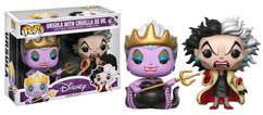 Disney - Ursula with Cruella de Vil US Exclusive Pop! Vinyl 2-Pack