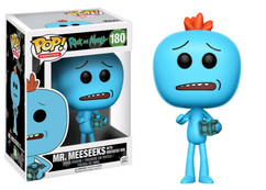 Rick and Morty - Mr Meeseeks with Meeseeks Box US Exclusive Pop! Vinyl Figure