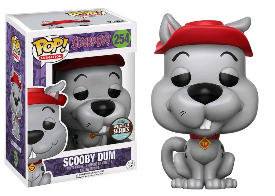 b0a986b592 ... Scooby-Doo - Scooby-Dum Pop! Vinyl Figure. Image 1