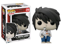 Death Note - L (with Cake) US Exclusive Pop! Vinyl Figure