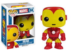 Iron Man Retro Marvel Universe - Pop! Movies Vinyl Figure