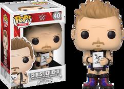 WWE - Chris Jericho US Exclusive Pop! Vinyl Figure