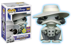 Darkwing Duck - Negatron Glow in the Dark SDCC17 Pop! Vinyl Figure