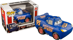 Cars 3 - Lightning McQueen Blue US Exclusive Pop! Vinyl Figure