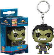 Thor 3: Ragnarok - Hulk Gladiator Suit Pocket Pop! Vinyl Keychain