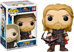 Thor 3: Ragnarok - Thor with Surtur Head Pop! Vinyl Figure