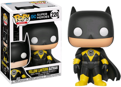 Batman - Yellow Lantern Batman US Exclusive Pop! Vinyl Figure