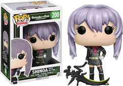 Seraph of the End - Shinoa with Weapon US Exclusive Pop! Vinyl Figure