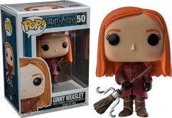 Harry Potter - Ginny in Quidditch Robes US Exclusive Pop! Vinyl Figure
