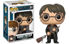 Harry Potter - Harry Potter with Firebolt US Exclusive Pop! Vinyl Figure