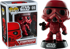 Star Wars - Red Stormtrooper US Exclusive Pop! Vinyl Figure