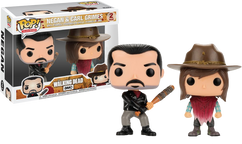 The Walking Dead - Negan & Carl US Exclusive Pop! Vinyl 2-Pack