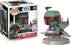 Star Wars - Boba Fett in Slave 1 40th Anniversary Deluxe NYCC17 Pop! Vinyl Figure