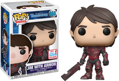 Trollhunters - Jim with Red Armor NYCC17 Pop! Vinyl Figure