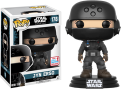 Star Wars: Rogue One - Jyn Erso in Disguise with Helmet NYCC17 Pop! Vinyl Figure