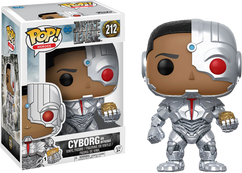 Justice League (2017) - Cyborg with Mother Box Pop! Vinyl Figure