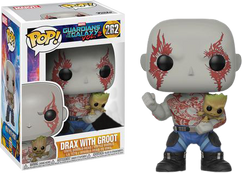Guardians of the Galaxy Vol. 2 - Drax holding Groot Pop! Vinyl Figure