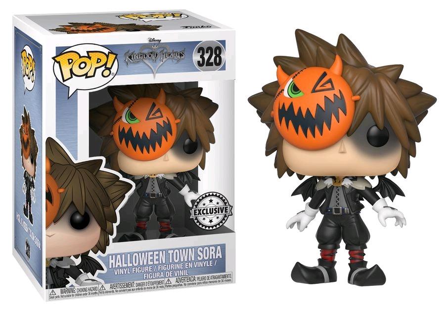 Halloween Pop.Kingdom Hearts Sora Halloween Town Us Exclusive Pop Vinyl Figure