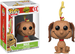 The Grinch - Max the Dog Pop! Vinyl Figure