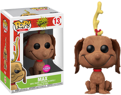 The Grinch - Max the Dog Flocked US Exclusive Pop! Vinyl Figure