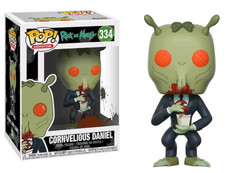 Rick and Morty - Cornvelious Daniel Pop! Vinyl Figure