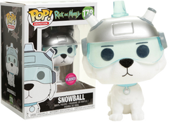 Rick and Morty - Snowball Flocked US Exclusive Pop! Vinyl Figure