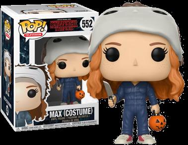 Halloween Pop.Stranger Things Max In Michael Myers Halloween Costume Pop Vinyl Figure
