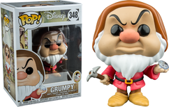 Snow White and the Seven Dwarfs - Grumpy with Diamond US Exclusive Pop! Vinyl Figure