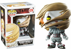 IT (2017) - Pennywise with Wig US Exclusive Pop! Vinyl Figure