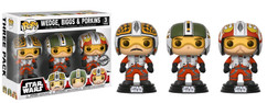 Star Wars - Wedge, Biggs & Porkins US Exclusive Pop! Vinyl 3-Pack