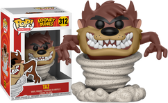 Looney Tunes - Taz with Tornado Pop! Vinyl Figure