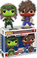 Marvel Vs. Capcom: Infinite - Gamora vs Strider Pop! Vinyl Figure 2-Pack