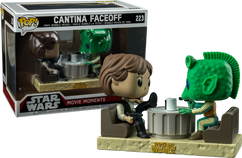 Star Wars - Han Solo and Greedo Cantina Face-Off Movie Moments Pop Vinyl Figure 2-Pack