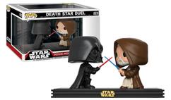 Star Wars - Darth Vader and Obi-Wan Kenobi Death Star Duel Movie Moments Pop! Vinyl Figure 2-Pack