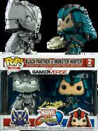 Marvel Vs. Capcom: Infinite - Black Panther Vs Monster Hunter US Exclusive Pop! Vinyl Figure 2-Pack