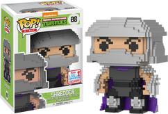 Teenage Mutant Ninja Turtles - Shredder 8-Bit NYCC 17 Pop! Vinyl Figure