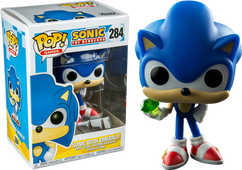 Sonic the Hedgehog - Sonic with Chaos Emerald Pop! Vinyl Figure
