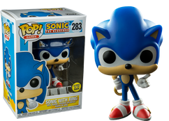 Sonic the Hedgehog - Sonic with Ring Glow US Exclusive Pop! Vinyl Figure