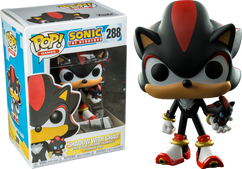 Sonic the Hedgehog - Shadow with Chao US Exclusive Pop! Vinyl Figure