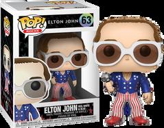 Elton John - Elton John in Red, White and Blue Suit Pop! Vinyl Figure