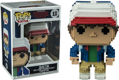 Stranger Things - Dustin 8-Bit US Exclusive Pop! Vinyl Figure