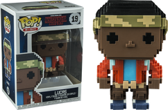 Stranger Things - Lucas 8-Bit US Exclusive Pop! Vinyl Figure